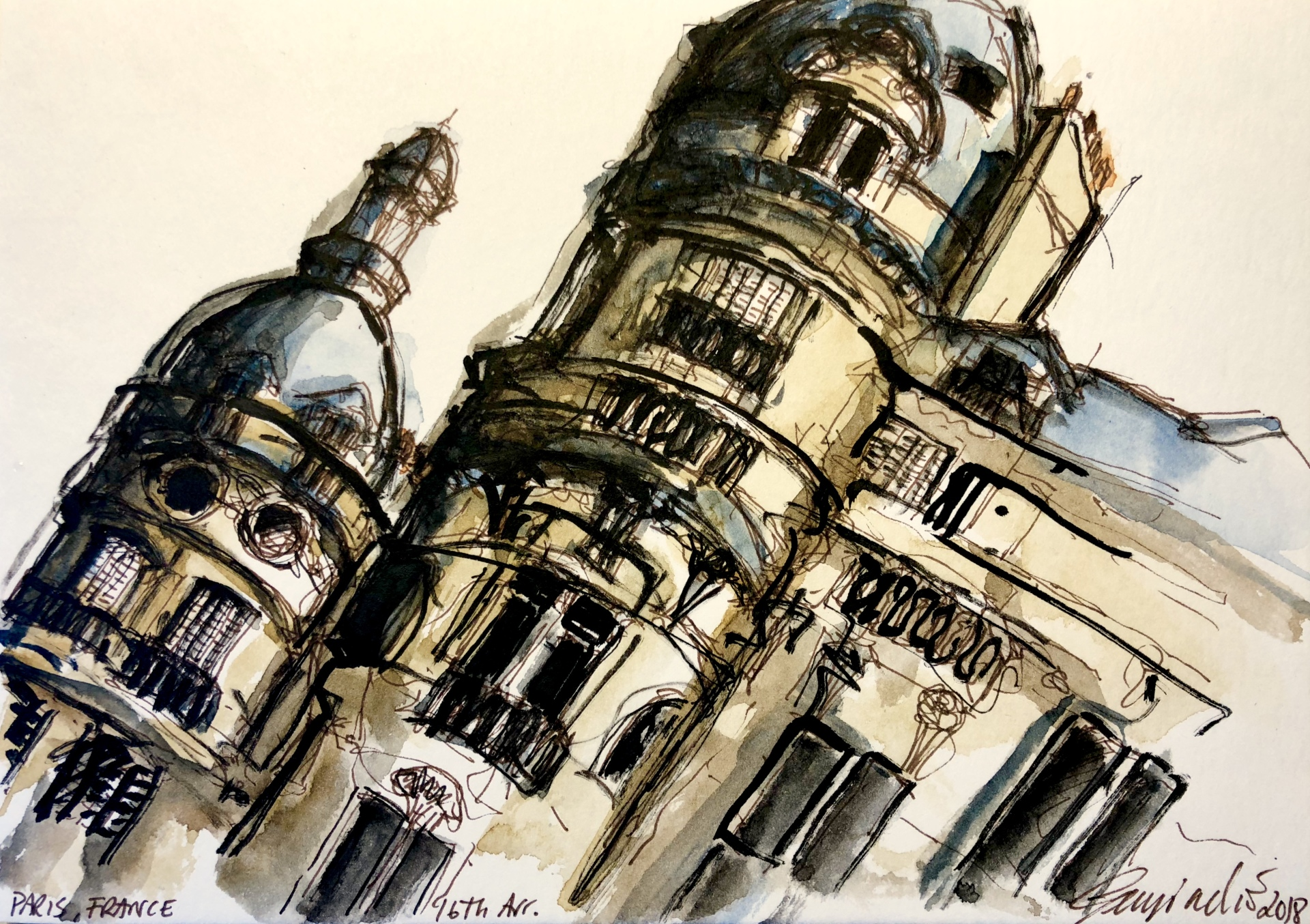 Paris 16th Arrondissement (SOLD)