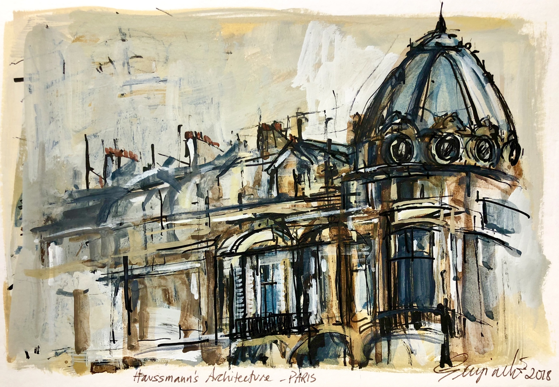 Haussmann's Architcture PARIS