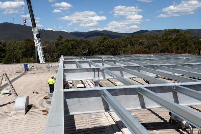 Boronia Manufacturing Plant Rooftop Extension