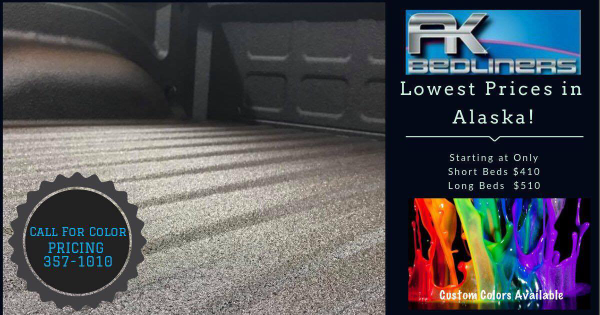 Lowest Price Bedliner in AK