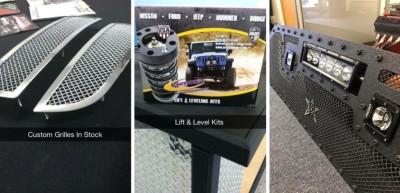 Lightbars - Offroad Accessories - Lift Kits - Wheels & Tires