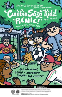 Cumbiasazo !Kids! Picnic Event
