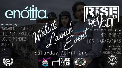 Rise and Revolt Launch Party