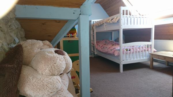 Adjoining children bedroom
