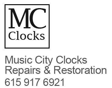 Music City Clocks Nashville Clock Repair Restoraion Service