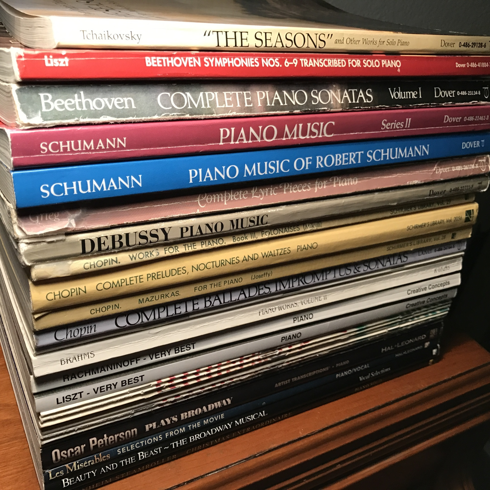 Piano Sheet Music Collection