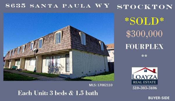 Stockton, CA.