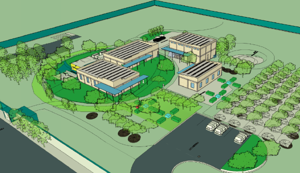 Haiti Youth Center Concept