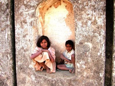 indian children pink pens studio