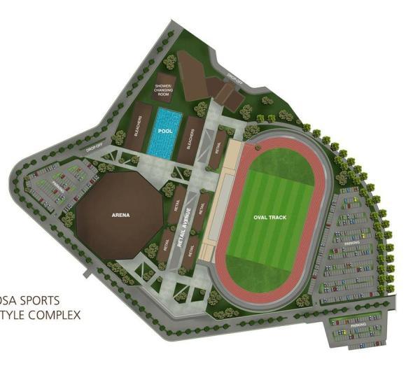 Vermosa Sports and Lifestyle Complex Masterplan