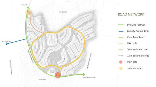Cerilo Road Network