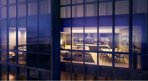 Two Bedroom Glass Suite Exterior Perspective