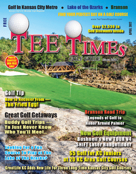TEE TIMES GOLF GUIDE April 2017 Magazine Cover