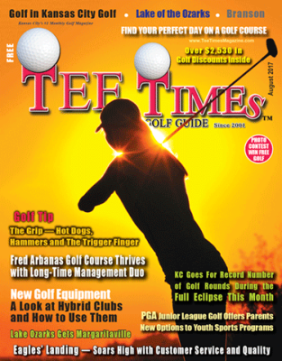 TEE TIMES GOLF GUIDE August 2017
