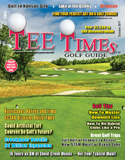 TEE TIMES GOLF GUIDE October 2017