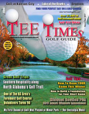 TEE TIMES GOLF GUIDE NOVEMBER 2017