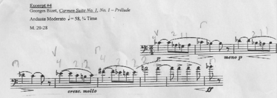 Excerpt #4 Practice Tips West Texas Region XVI 2016 Cello