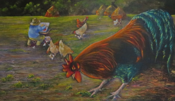 Monet's Chickens ©