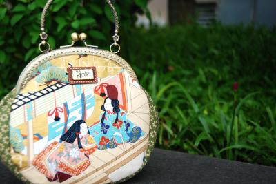 Câu truyện về trà đạo trên vải Nhật