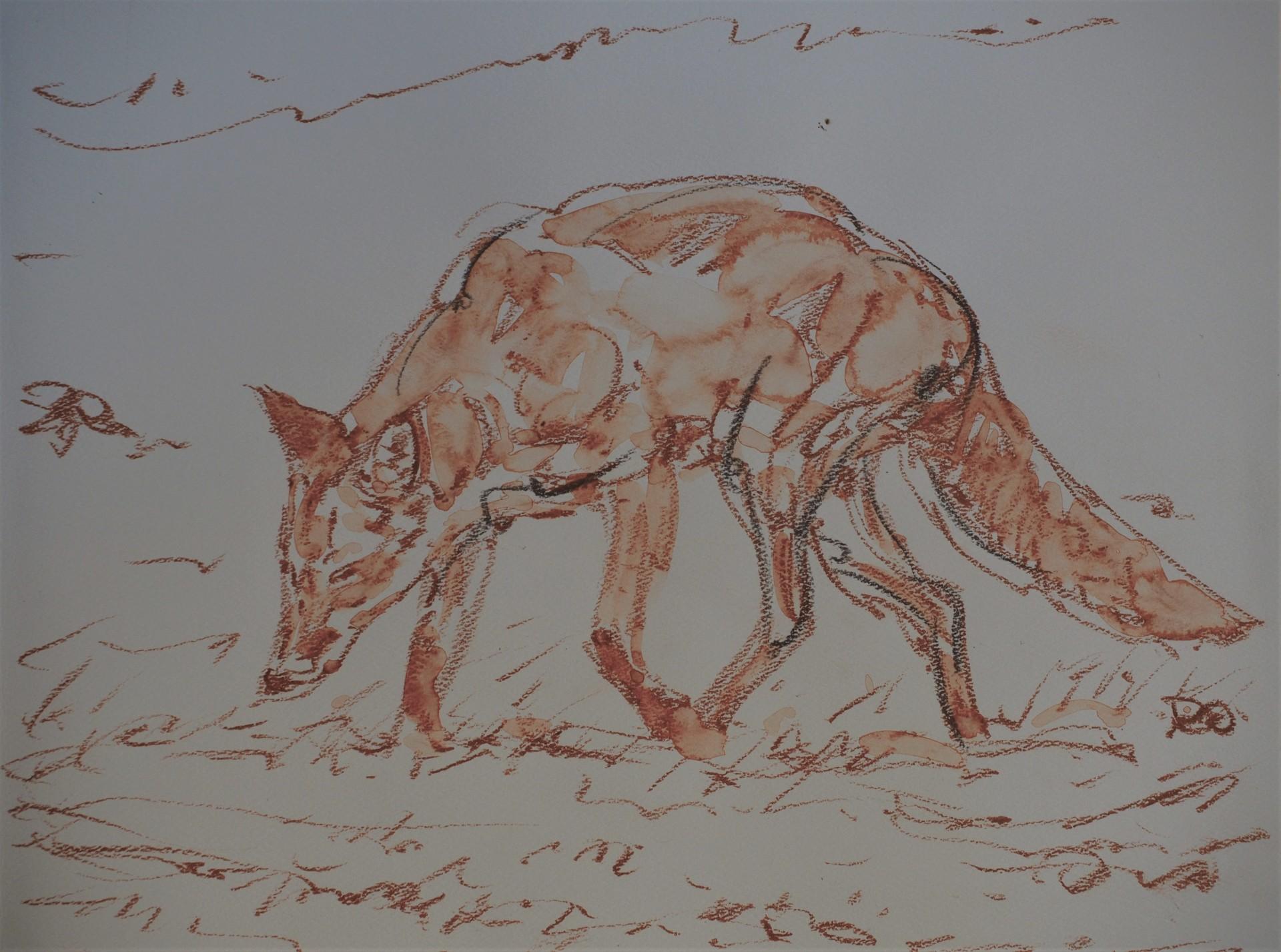 Trotting Fox