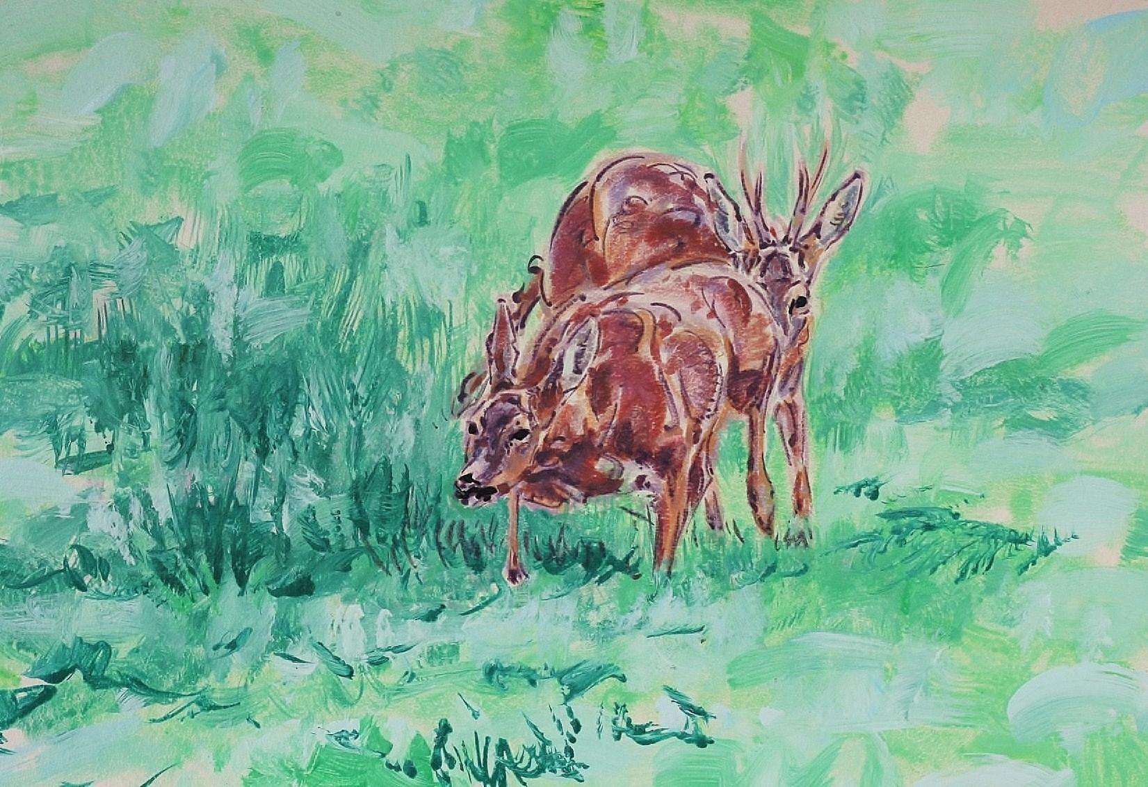 Roe Buck in Pursuit