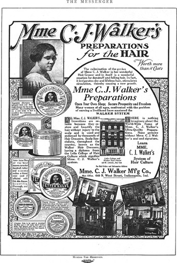 Madam C.J. Walker (1867—1919)