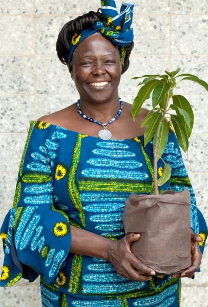 Wangari Maathai (1940—2011)