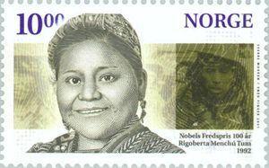 Rigoberta Menchú Tum (b. 1959)