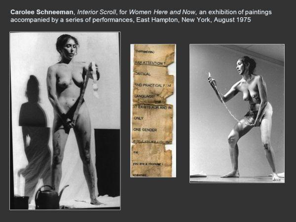 Carolee Schneeman (b. 1939)