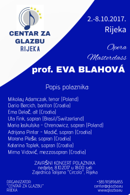 Popis polaznika - List of participants