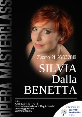 Opera Masterclass prof. Silvia Della Benetta u Zagrebu!
