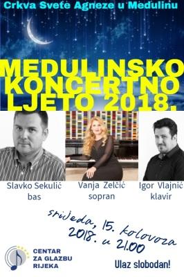MEDULINSKO KONCERTNO LJETO 2018.