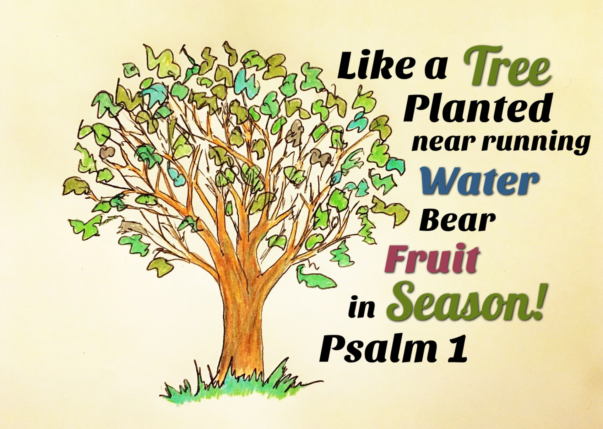 Bear Fruit in Season!
