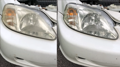 Restore Headlights in 5 Minutes