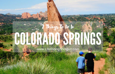 7 Things To Do In Colorado Springs