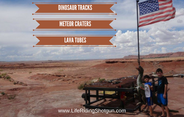 Dinosaurs, Meteors, and Lava Tubes