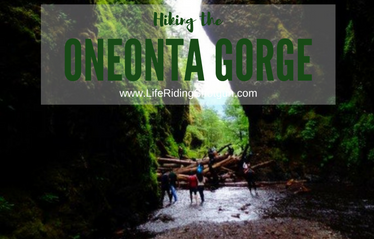 Hiking the Oneonta Gorge