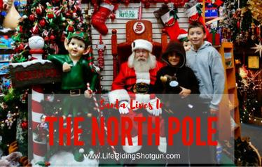 Santa Lives in North Pole