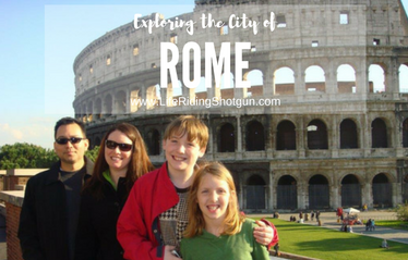 Exploring the City of Rome, Italy
