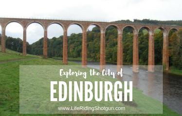 Exploring the City of Edinburgh, Scotland