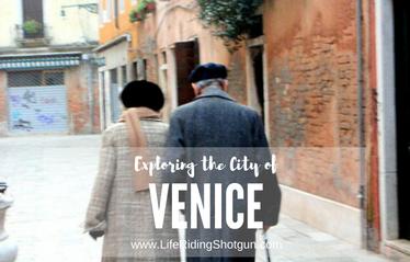 Exploring Venice, Italy