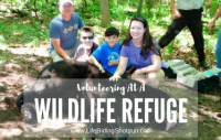 Volunteering at a Wildlife Refuge