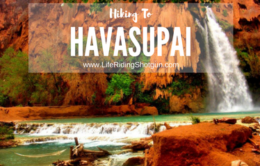 Hiking to Havasupai