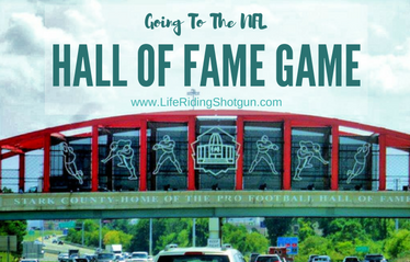 Going to the NFL Hall of Fame Game