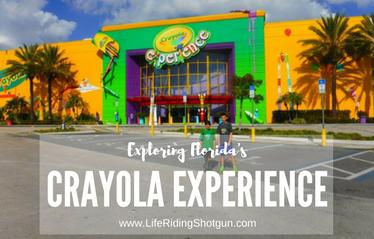 Exploring the Crayola Experience