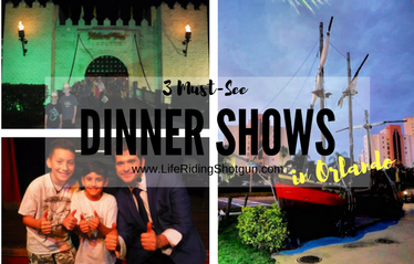 3 Amazing Dinner Shows in Orlando
