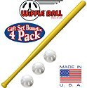 "Wiffle 32"" Bat and 3 Baseball Gift Set"