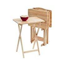 5 Pc Table Tray Set