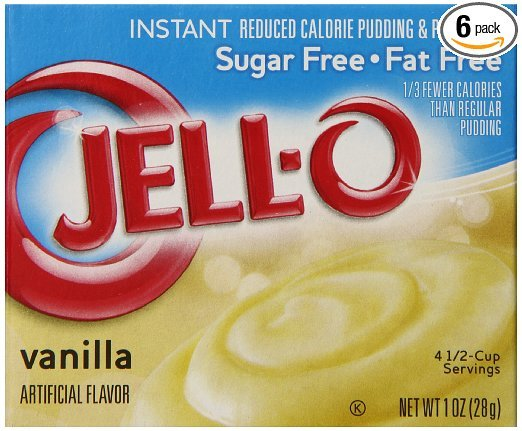 Sugar Free Vanilla Pudding