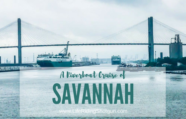 Taking a Riverboat Cruise in Savannah